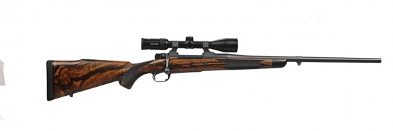 GMA G33/40 Action  Stainless Barrel  Swarovski Z3 3-10 Scope Turkish Walnut Stock