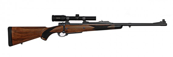 416 Rigby 22in 5 shot HM RS w scope