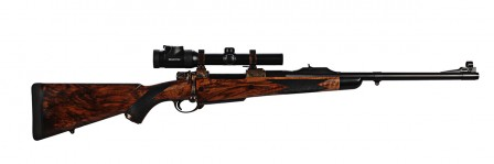 416 Rigby 22in Color Cased w scope