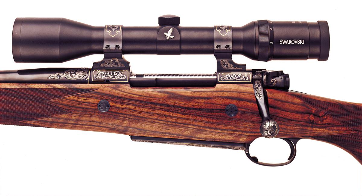 416 Rigby 23″ 5 shot Dakota LH Engraved | Ryan Breeding Rifles