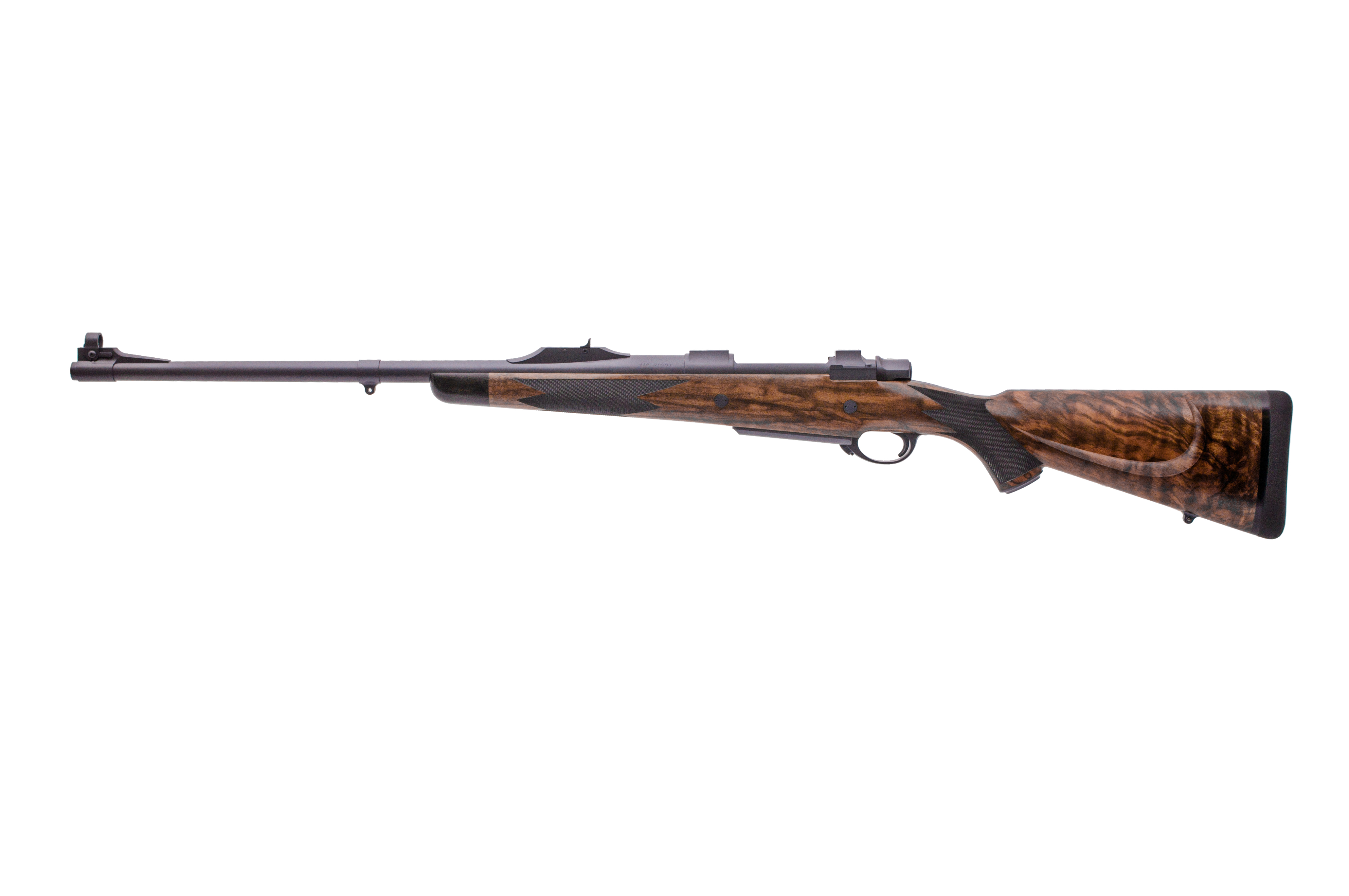 416 Rigby 24″ 5 shot Magnum Mauser with Extended Tangs | Ryan